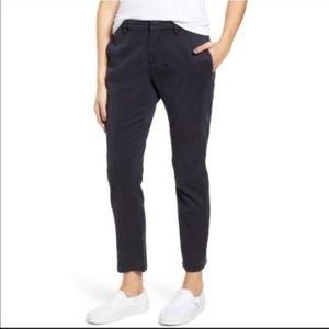Rails Grayson Charcoal Cropped Pants 10